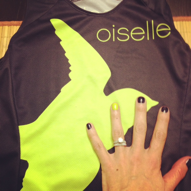 Like race nails (to match Oiselle uni of course).